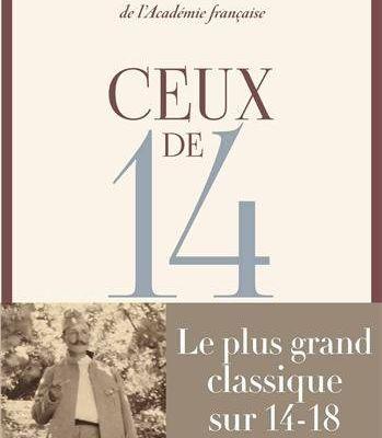 """Réédition de """"Ceux de 14"""" chez Flammarion"""