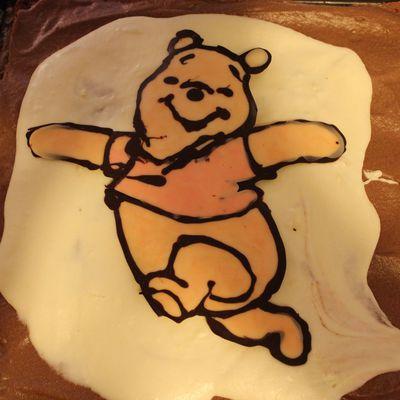 déco de gateau Winnie l'ourson