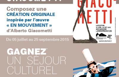 Jeu-concours : marche avec Giacometti