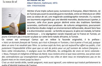 "Lecture(S)...  Relire ""La Statue de sel"""
