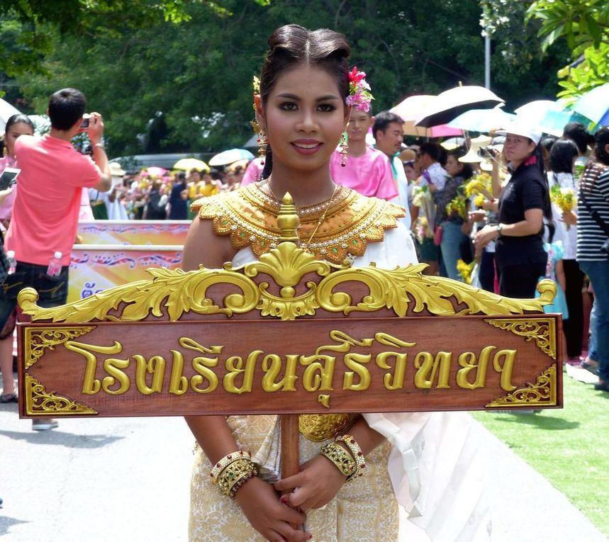 Khao Phansa à Phra Phutthabat