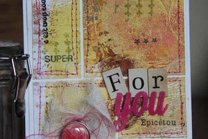 Cartes style patchwork
