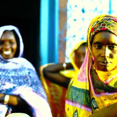 Un village au nord du Sénégal