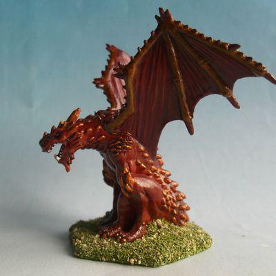 Peindre le dragon de feu.