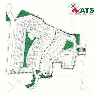 ATS Floral Pathways 3 BHK Flat In Ghaziabad