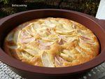 Gâteau fermière aux pommes