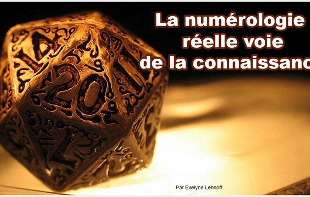 La numérologie réelle voie de la connaissance.