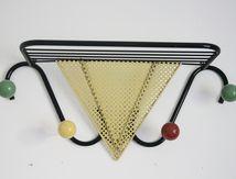 Porte Manteaux boules de couleur Années 50 - Vintage
