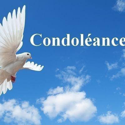 Condoléances