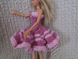 TUTOS gratuits barbie: robes sous le vent