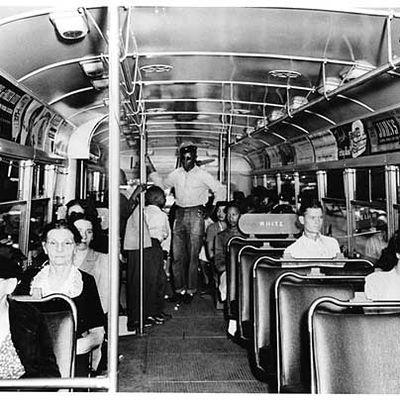 Segregation on buses
