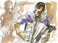 Vincent Peirani Thrill box (L'Ecoutille,Festival Jazz en Chantereine, 7 novembre 2014)