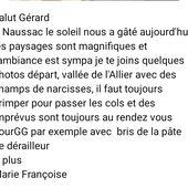 SEJOUR NAUSSAC MAI 2021 - Cyclotouristes Alençonnais (C.T.A.)