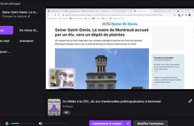Débat Twitch : Du Méliès à la CRC, 10 ans d'embrouilles politicojudiciaires à Montreuil