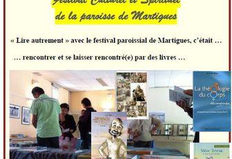 """FESTIVAL DE L'ANNONCIADE : SOUVENIR DE LA JOURNEE """"LIRE AUTREMENT"""""""