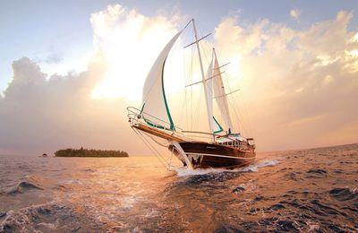 Tổng hợp những hình ảnh về thuyền và biển đẹp nhất