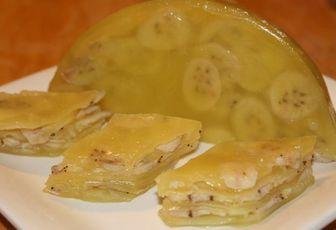 Bánh chuối hấp nước cốt  dừa thơm lừng