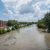 La Garonne en crue à Toulouse