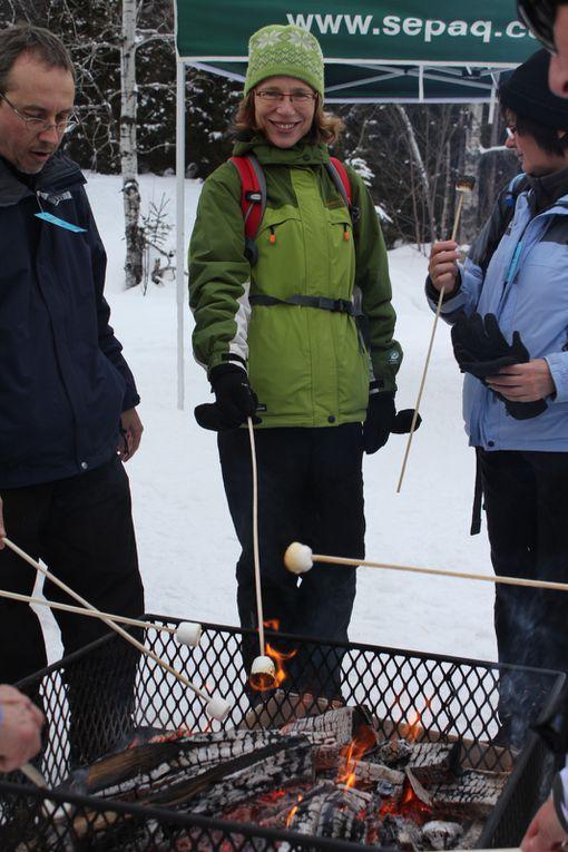 Activités de raquette, randonnées au Québec et Ontario