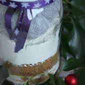 Cadeau gourmand : kit pour pain d'épices aux fruits secs - La cuisine d'Anna et Olivia