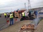 [Caen] Trois Gilets jaunes condamnés pour avoir été présents à un blocage lors de la grève générale
