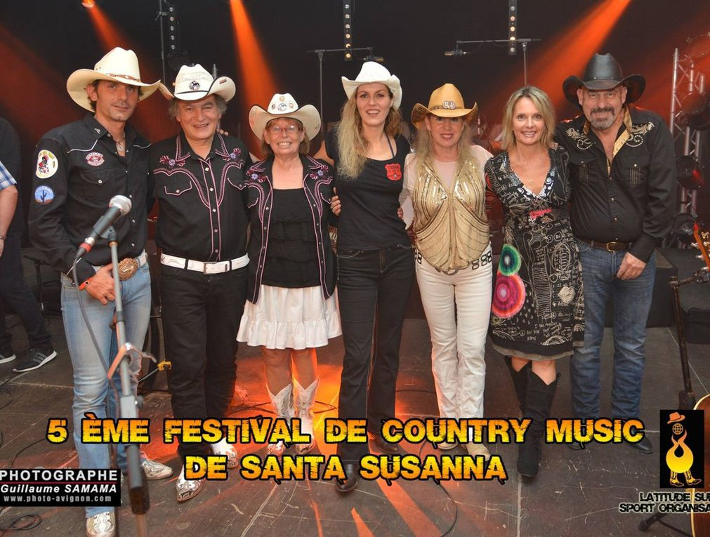 Quelques photos du Festival Country Music de Santa Susanna