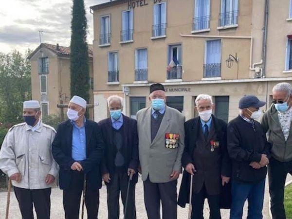 Commémoration nationale de l'abandon des Harkis à Manosque (04)