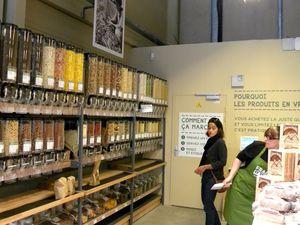 Visite guidée du nouveau concept Frais d'Ici à Toulouse