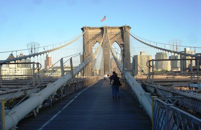 New York, le pont de Brooklyn