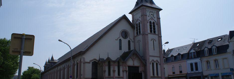 BERCK SUR MER ( 62): l'église Notre Dame des Sables