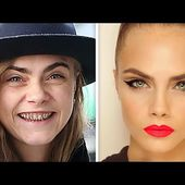 10 Shocking Photos of Supermodels Without Makeup pt. 1