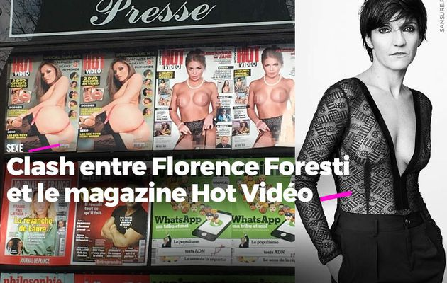Clash entre Florence Foresti et le magazine Hot Vidéo #censure