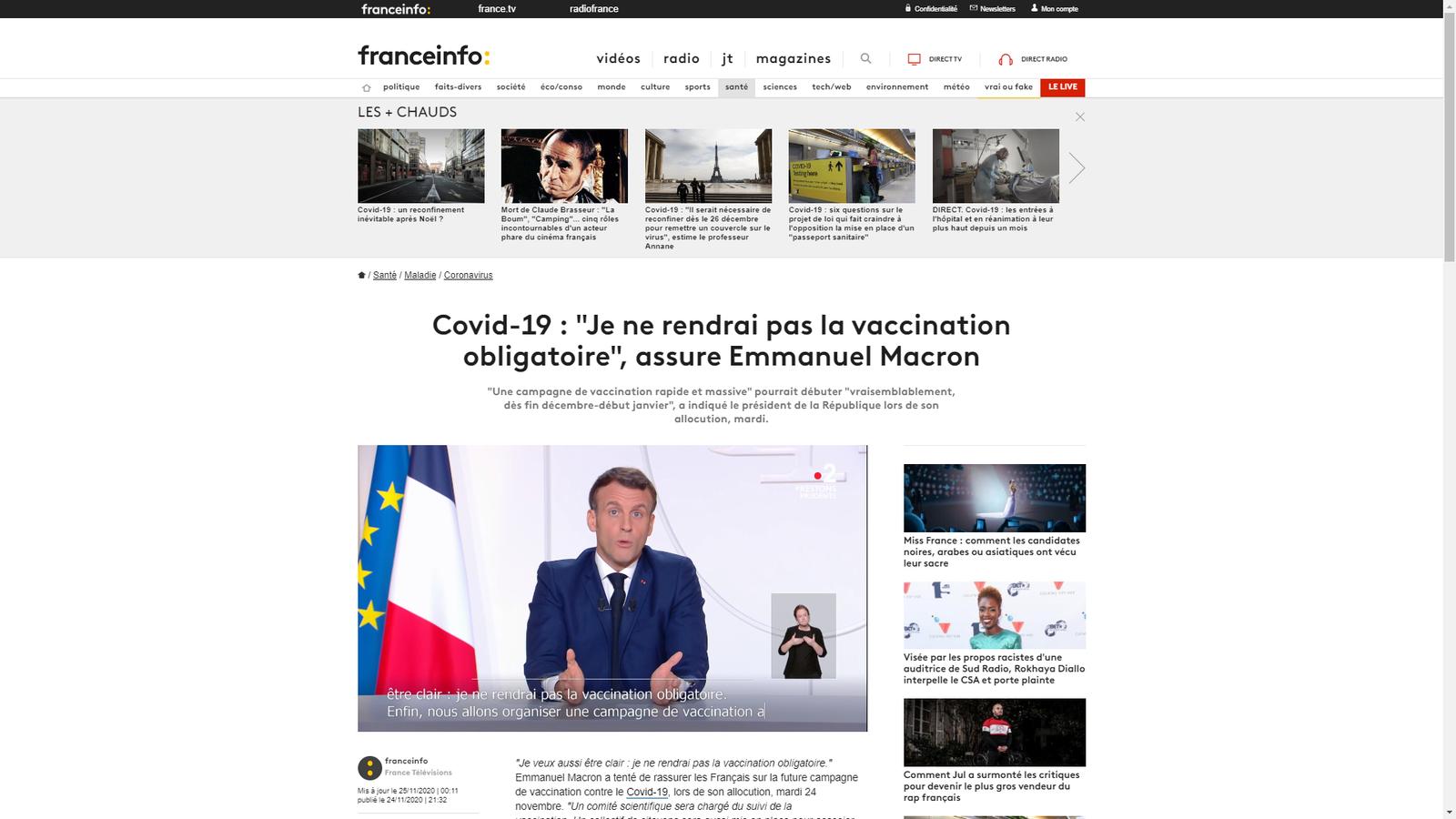 https://www.francetvinfo.fr/sante/maladie/coronavirus/covid-19-je-ne-rendrai-pas-la-vaccination-obligatoire-assure-emmanuel-macron_4194231.html