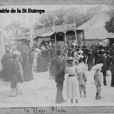 4 mai - Autour d'Eutrope le Saint et autour de 1900 - Photos inédites Saintes