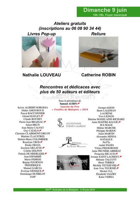 Salon du livre de Arzens dans l 'Aude