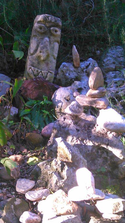 Yoga...Au jardin du Campement...