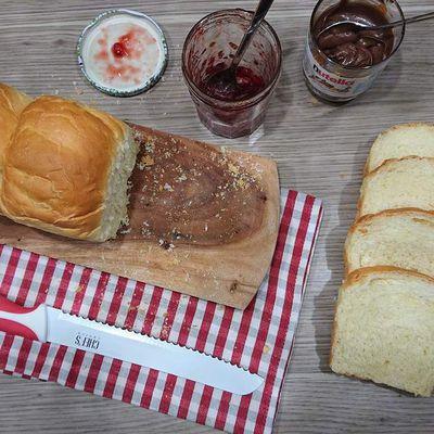 Pão de forma ou pain de mie portugais