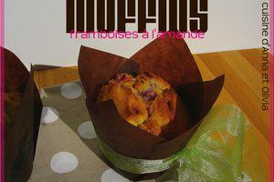 Muffins framboises à l'amande
