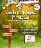 Randonnee du Muguet, Dompierre sur Yon (Sortie VTT du 1/5/2015 / Ref. : 38930)