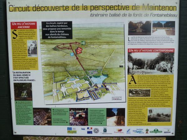 Randonnée de Thomery à Fontainebleau - 15 km.
