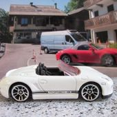 PORSCHE BOXSTERS SPYDER HOT WHEELS 1/64 - car-collector.net