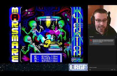 ZX Spectrum Let's Play - Marsmare: Alienation (gagnant du Yandex 2020) - Metroidvania)