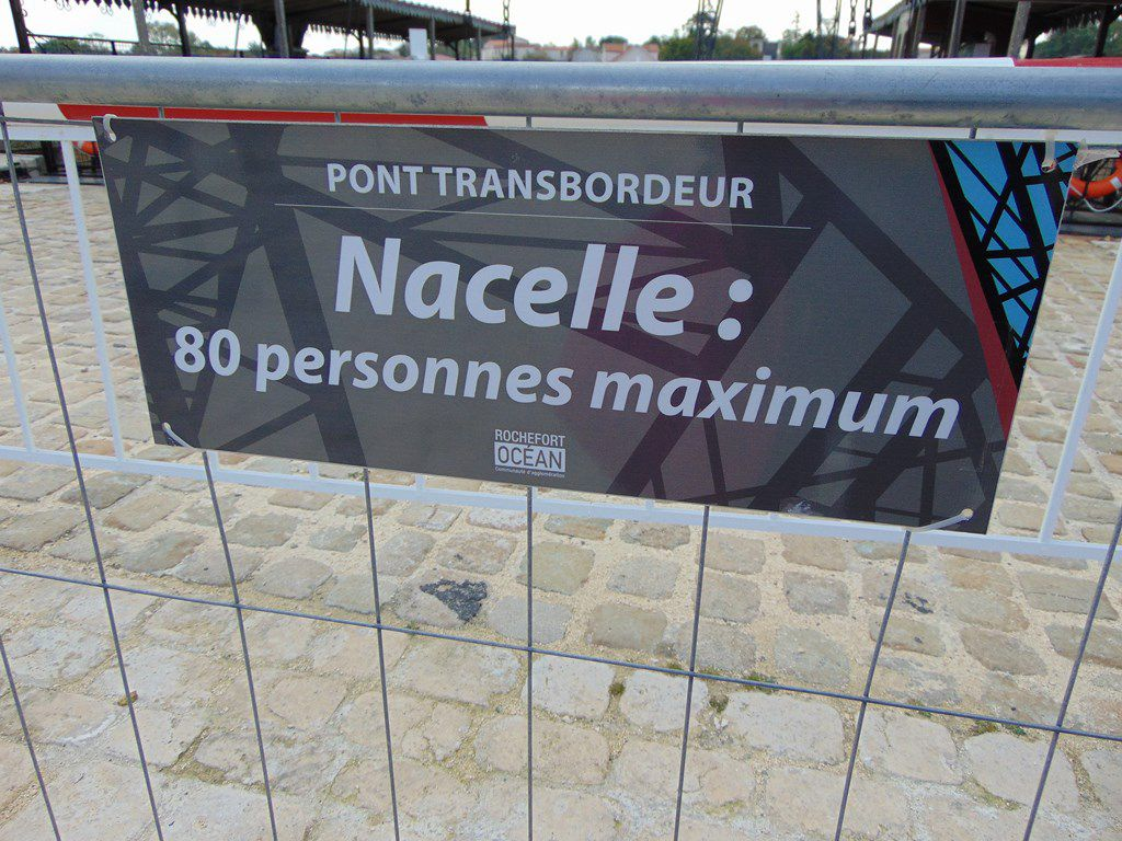 Le Pont transbordeur de Rochefort - 15 octobre 2020