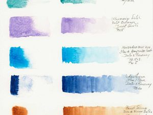 Préparation d'une palette, étapes ... article bientôt en ligne