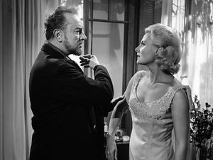 Pierre Brasseur and Jean Gabin in Les Grandes Familles directed by Denys de La Patellière, 1958Pierre Brasseur and Michele Morgan in Rencontres directed by Philippe Agostini, 1962 -