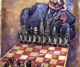 L'oligarchie donne le ton des décisions politiques des Etats-Unis, et du reste du monde par effet cascade selon moi !