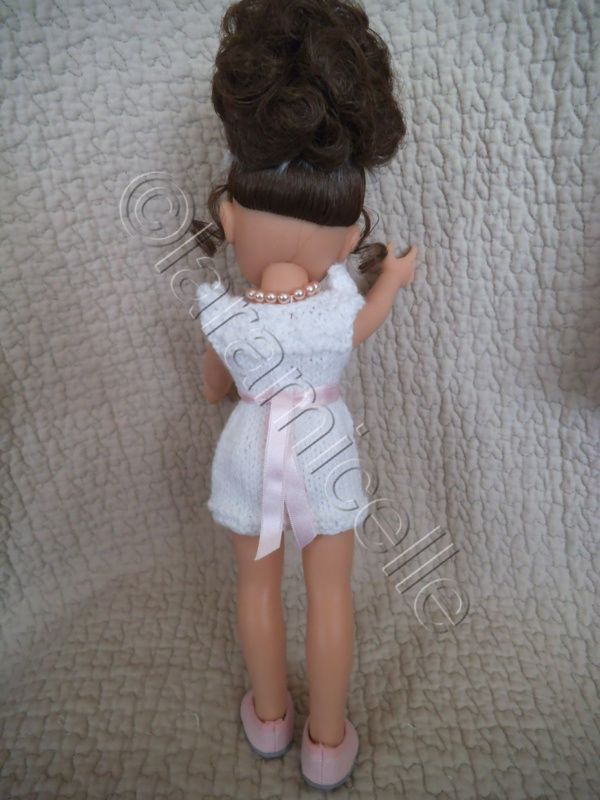 tuto gratuit paola reina : mini robe et long manteau fourrure