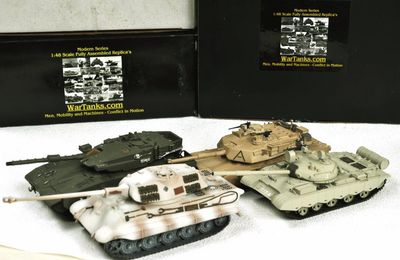 Les miniatures militaires WarTanks  (1/48 - par Thomas Seignon)