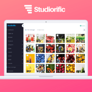 Studiorific offers a full platform of marketing & analytics software