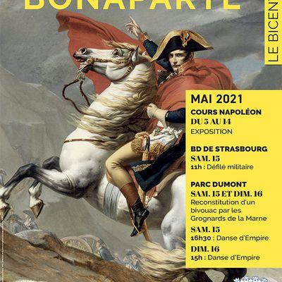 Célébration du bicentenaire de la mort de Napoléon Bonaparte à Aulnay-sous-Bois